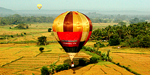 Ballon-Safari auf Sri Lanka