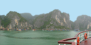 Halong-Bucht in Vietnam / © Gaston Roth