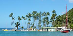 Reisetipp Karibik - Marigot Bay auf St.Lucia