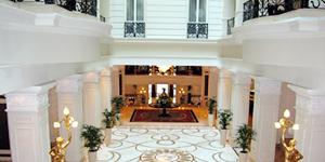 Reisetipp Budapest - Lobby des Corinthia