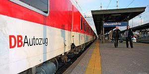 Reisenews: Autozug in Alessandria