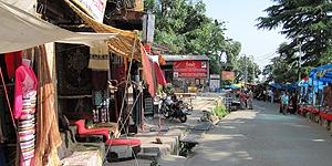 Straßenbild in Indien