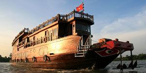 Vietnam: Das Flusskreuzfahrtschiff Mekong Eyes
