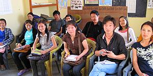 Reise-Blog Indien: Meine Fortgeschrittene Deutsch Klasse