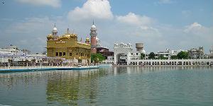 Der Goldenen Tempel von Amritsar