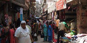 Gasse in Amritsar