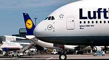 Lufthansa Airbus A380 trägt den Namen der Stadt Wien