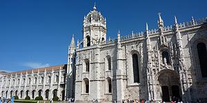 Die eindrucksvolle Fassade des Mosteiro dos Jerónimos © M.Kiel