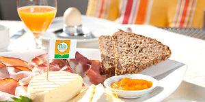 Das gute Bio-Frühstück © Hotel Rupertus