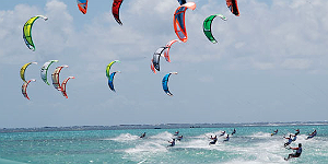 Kitesurf-Events auf Mauritius