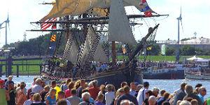 21. Hanse Sail Rostock - die Bounty
