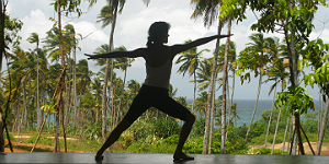 Asanas mit Ausblick – Yoga im Barberyn Beach Ayurveda Resort Bildnachweis: Barberyn Resorts