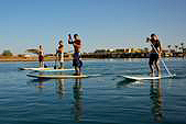 Stand Up Paddling in El Gouna