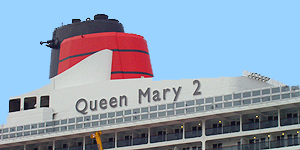 Queen Mary 2 kommt nach Hamburg ins Dock