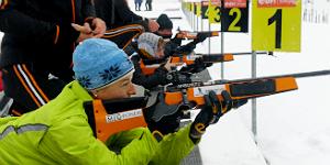 Biathlon für jedermann in Ruhpolding