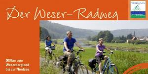 Erstes kostenfreies Serviceheft für den Weser-Radweg erschienen