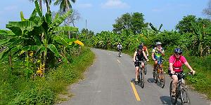 Radgruppe auf Sri Lanka