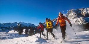 Winterwanderlust mit Schneeschuhen im Hochpustertal