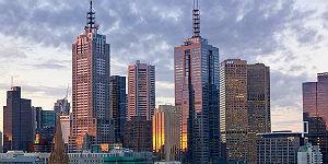 Herrlicher Blick auf die Skyline © Langham Melbourne