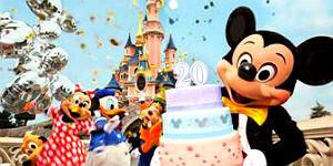 Disneyland Paris feiert Geburtstag