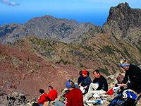 Trekkerträume auf dem GR 20 - Col de Perdu auf Korsika