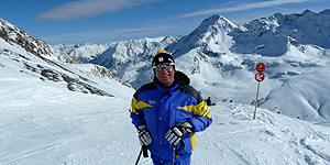 Skilehrer Egon Anderle © Andrea Bonder