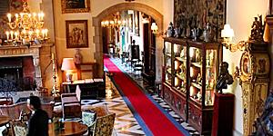 Antikes Ambiente im Schlosshotel Kronberg © Brigitte Bonder
