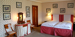 Doppelzimmer im Schloss © Brigitte Bonder