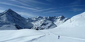 Kühtai - Schneegarantie auf 2.020 Metern