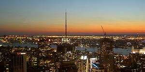Heiraten über den Dächern von Manhattan