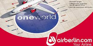 airberlin ist oneworld Mitglied