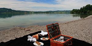 Picknick am Kochelsee © Brigitte Bonder