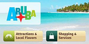 Reise-App Aruba