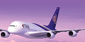 Erster A380 im Thai-Airways-Look