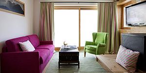 Stilvoll wohnen in der Chalet-Suite © Hotel Goldener Berg