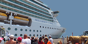 Mit der Brilliance of the Seas von Dubai nach Indien