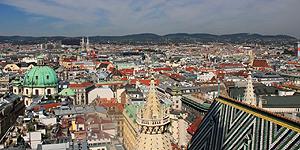 Wien von oben © Brigitte Bonder