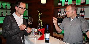 Weinprobe mit Rainer Christ © Brigitte Bonder