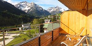 Traumhafter Blick vom Balkon © Melanie Kiel