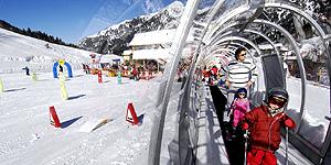 Wintersportgebiet Malbun mit dem Gütesiegel