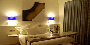 Stylisch und zum Wohlfühlen - die Zimmer im Hotel Tres © Melanie Kiel