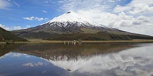 Laguna Limpiopungo mit Vulkan Cotopax © KPRN