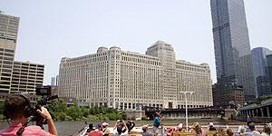 Architekturfahrten auf dem Chicago River