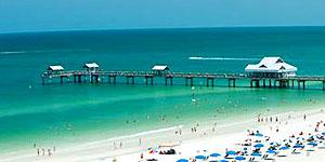 Clearwater Beach an der Westküste Floridas ist einer der beliebtesten Strände der USA