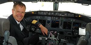 Klaus Wehrmann ist Boeing Kapitän und Fuel Coach bei airberlin