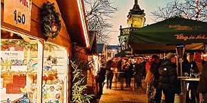 Lütticher Weihnachtsdorf