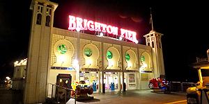 Brighton Pier bei Nacht © Melanie Kiel
