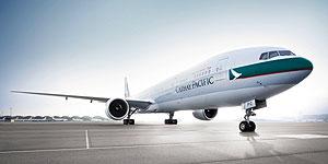 Jubiläumspreise bei Cathay Pacific