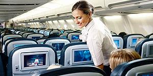 An Bord von Icelandair  © Icelandair