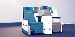 Flatsitze von KLM ©